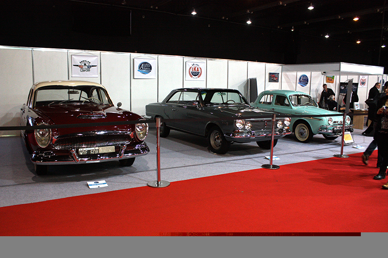 Autohistoria en el Salón Internacional del Automóvil de Buenos Aires.