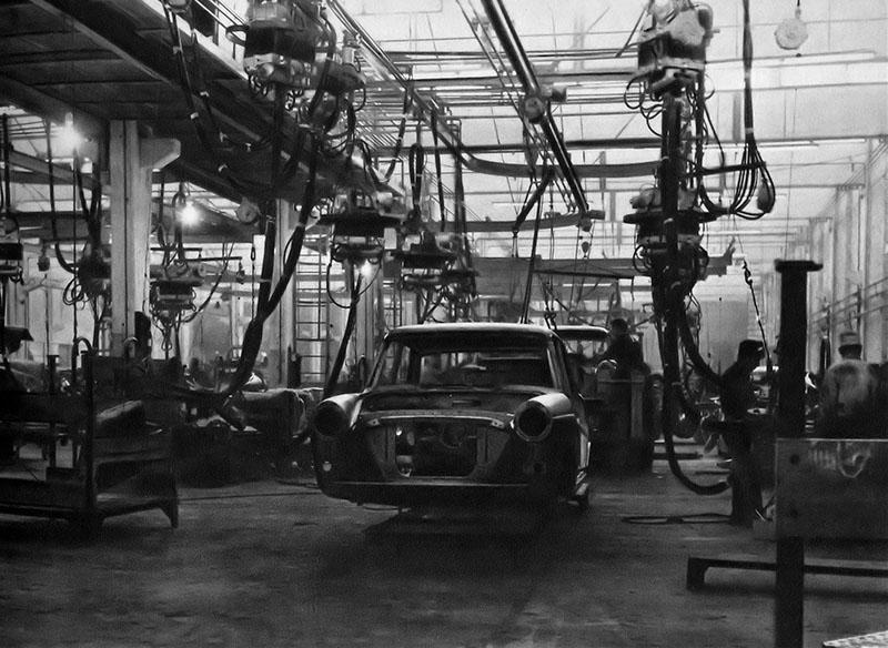 Planta industrial SIAM Di Tella Automotores