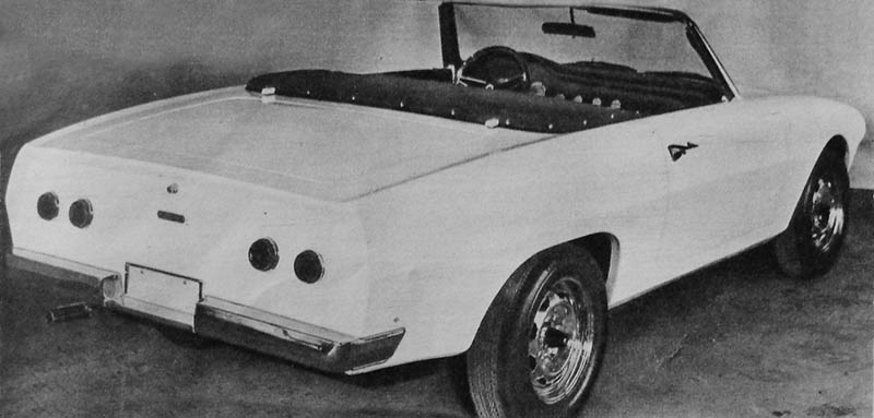 Nic prototipo spider con mecánica Valiant GT