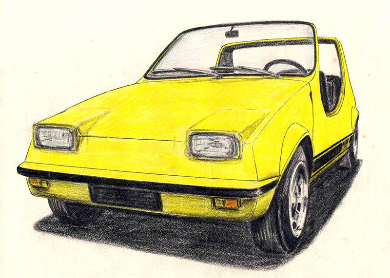 Prototipo Iguana, desarrollado sobre mecánica de serie de Renault 6