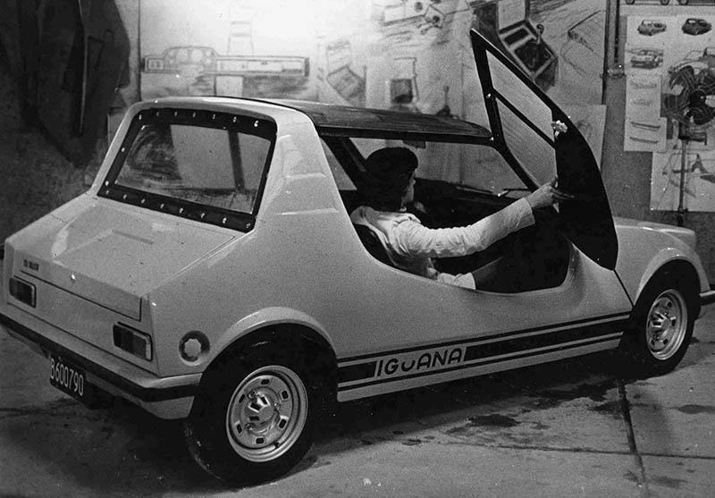 Prototipo Iguana sobre mecánica de serie Renault 6.