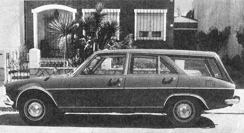 Panorama Peugeot 504