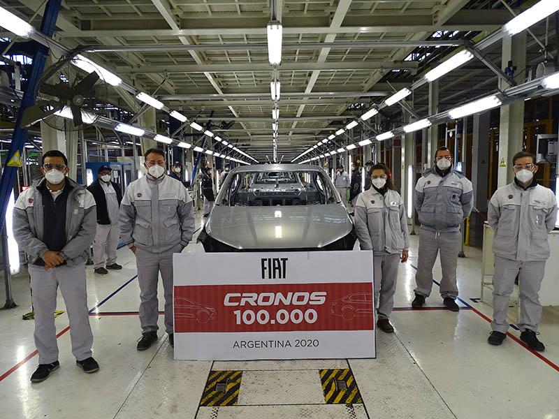 Fiat Cronos 100.000