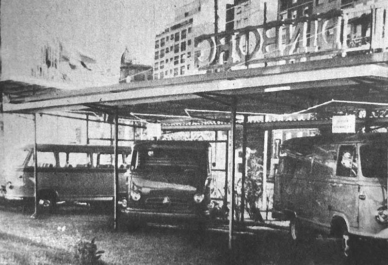 Dinborg, stand de camiones Borgward