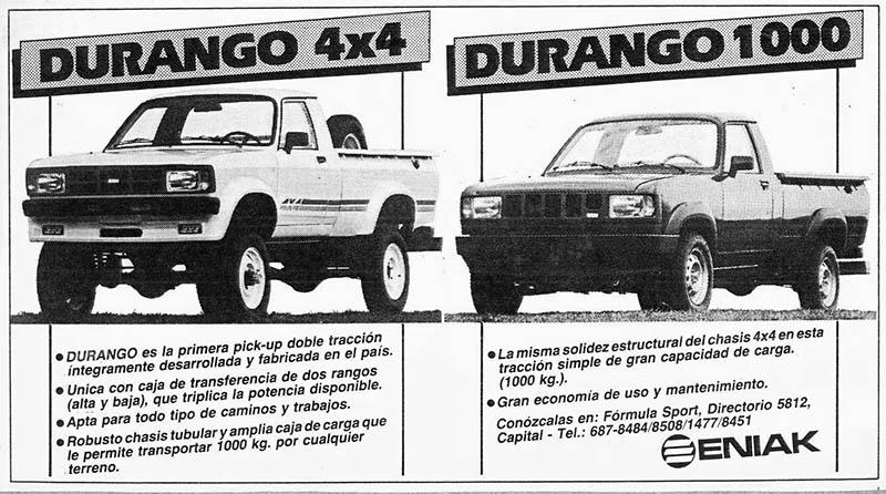 Durango 4x4 - Durango 1000