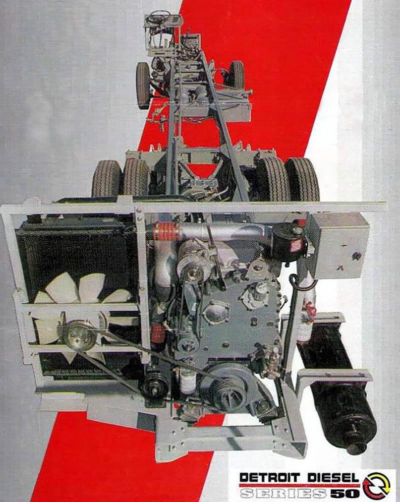 Chasis Ferroni Detroit Diesel 50