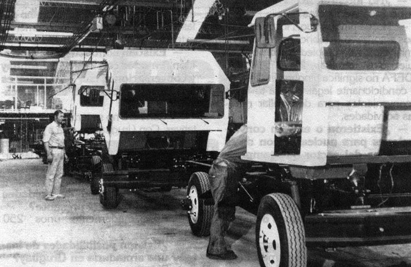 Producción de camiones Grosspal
