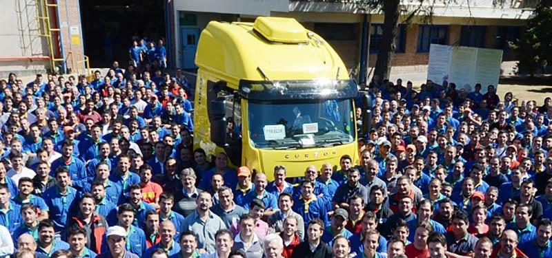 Unidad nº 90.000 fabricada por IVECO en Argentina