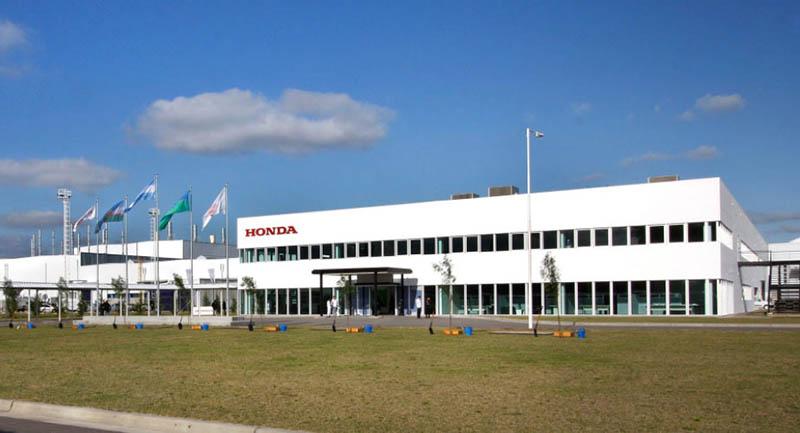 Planta industrial de Honda Argentina