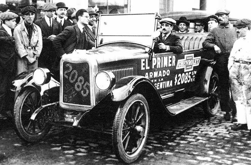 Primer Chevrolet Argentino