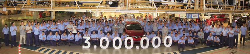 FSI Auto 3 millones - Renault Argentina