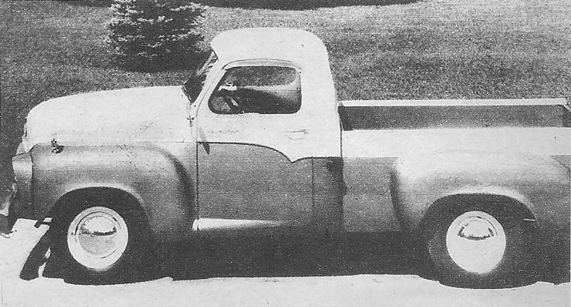 La pick up Studebaker Transtar