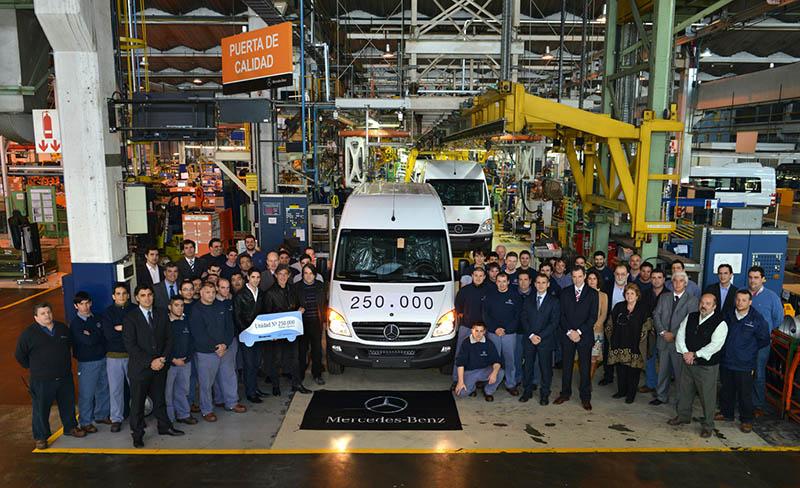 Historia de Mercedes-Benz en Argentina