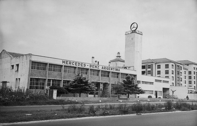 La historia de Mercedes-Benz en Argentina