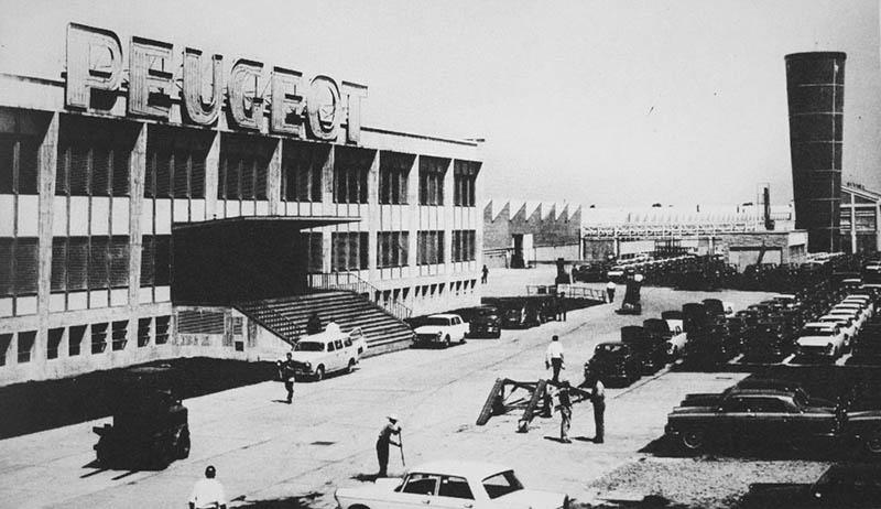 Planta industrial Peugeot en Argentina