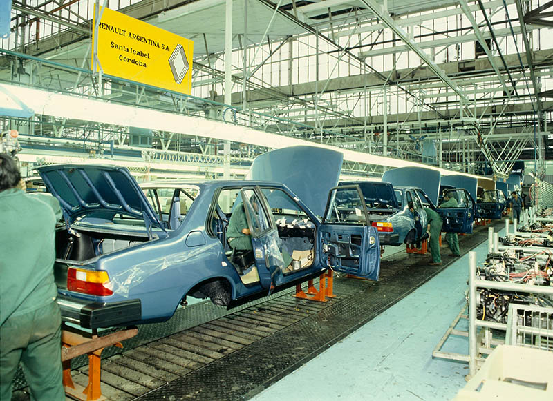 Montaje del Renault 18