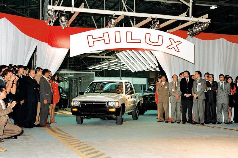 Primeras Toyota Hilux fabricadas en Argentina