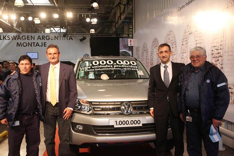 Unidad Volkswagen un millón fabricada en Pacheco
