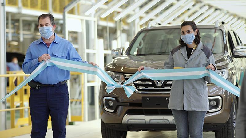 Renault Alaskan lanzamiento industrial