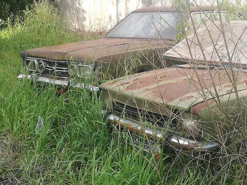 Envejeciendo juntos Taunus y Opel K 180