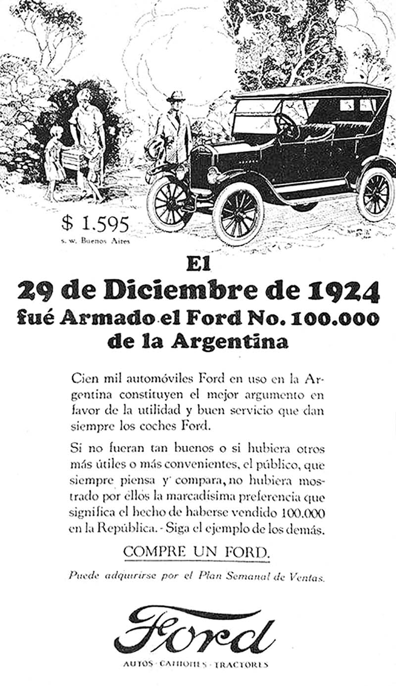 Ford argentino nº 100.000