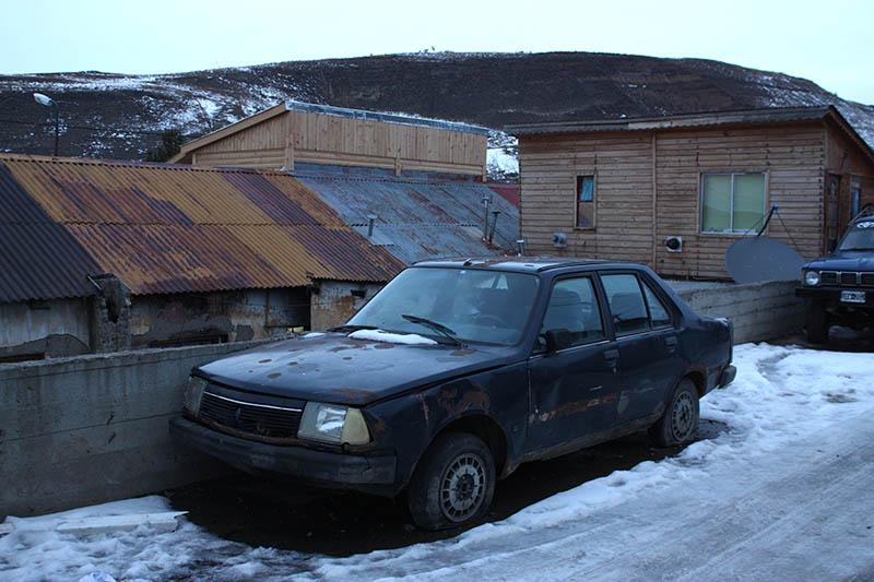 Renault 18 tiritando en el sur
