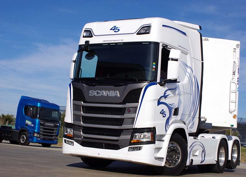 Scania cumple 45 años de actividad industrial en la Argentina